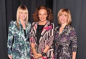 Amy Astley, Diane von Furstenberg, Laura McEwen