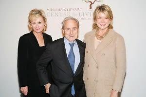 Tina Brown, Sir Harold Evans, Martha Stewart