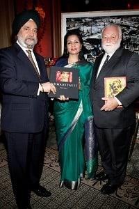 Hadeep Singh Puri, Lakshmi Puri, Fredric Roberts