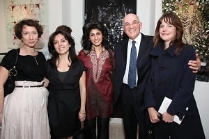 Margery Newman, Roya Farassat, Pooneh Maghazehe, Aijan Harrison, Christina Dalle Pezze