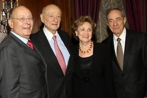 Alfonse D'Amato, Ed Koch, Matilde Cuomo, Mario Cuomo