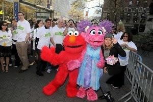 Elmo, Abby Caddaby, Leslie Carrara-Rudolph