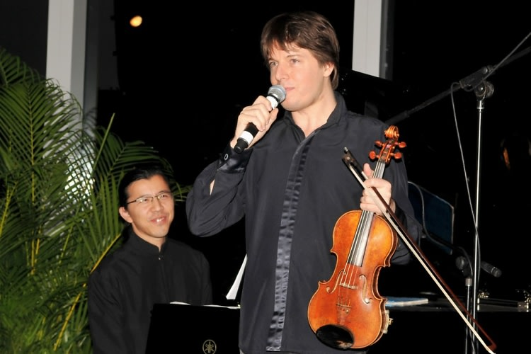 Frederic Chiu, Joshua Bell