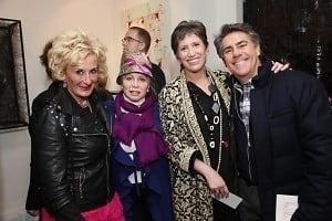 Eileen Hickey-Hulme, Liz Derringer, Beth Rudin DeWoody, Richard Mishaan