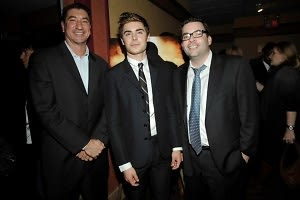 Mike Chico, Zac Efron, Andy Blacker