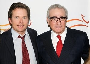 Michael J. Fox, Martin Scorsese