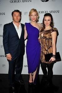 Joel Edgarton, Cate Blanchett, Robin McLeavy