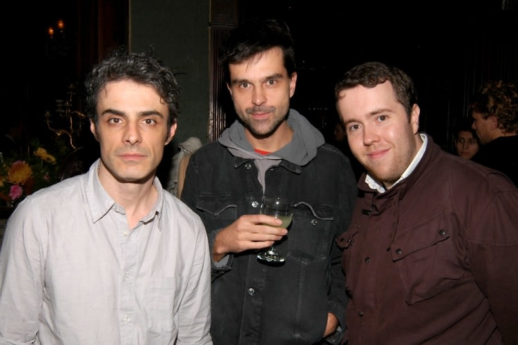Alessandro Magania, Abigniew Bzymek, Christopher Bartley