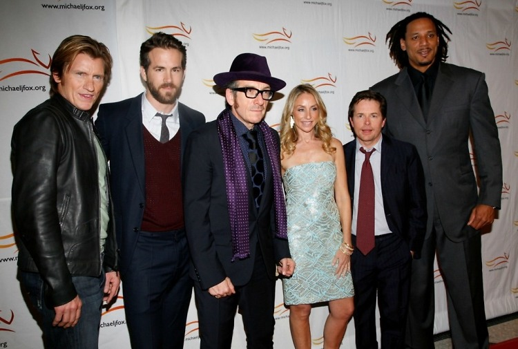 Denis Leary, Ryan Reynolds, Elvis Costello, Tracy Pollan, Michael J. Fox, Brian Grant