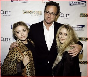 Mary Kate Olsen, Bob Saget, Ashley Olsen