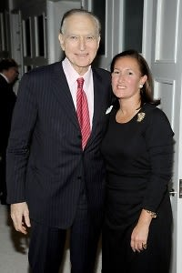 Ambassador John Loeb Jr, Christine Schott