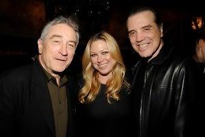 Robert De Niro, Gianna Palminteri, Chazz Palminteri
