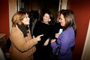 Judy Licht, Trish McEvoy, Roseanna Scotto