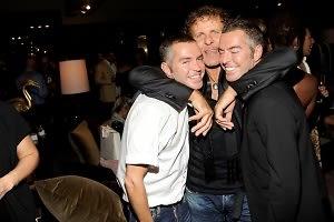 Dan Caten, Renzo Rossi, Dean Caten