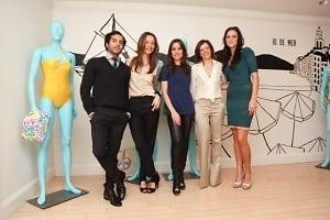 Daniel Urzedo, Amalia Spinardi, Milena Penteado, Célia Figueiredo, Lisa Simek