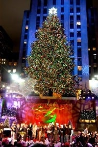The Rockefeller Center Tree