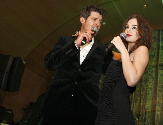 Robin Thicke, Leighton Meester