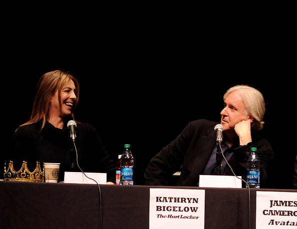 kathyn bigelow and james cameron