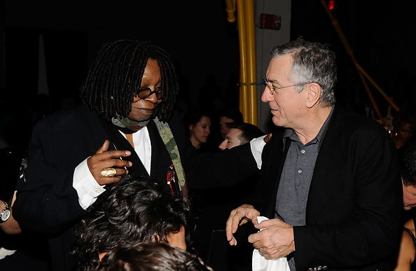 whoopi goldberg, robert de niro