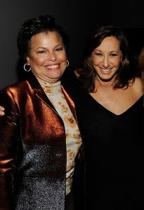 Deborah Lee and Donna Karan