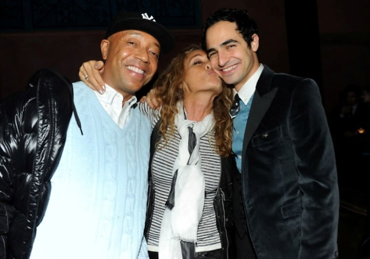 Russell Simmons, Ann Dexter Jones, Zac Posen