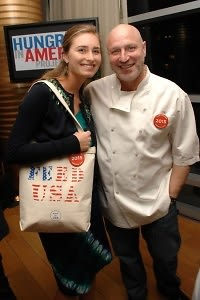 Lauren Bush, Tom Colicchio