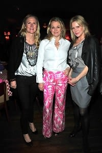 Gigi Mortimer, Debbie Bancroft, Patricia Duff