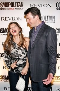 Callie Thorne, Nathan Fillion