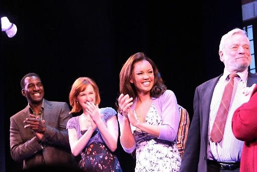 Norm Lewis, Erin Mackey, Vanessa Williams, Stephen Sondheim