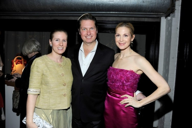 Nathalie Kaplan, James Mischka, Kelly Rutherford