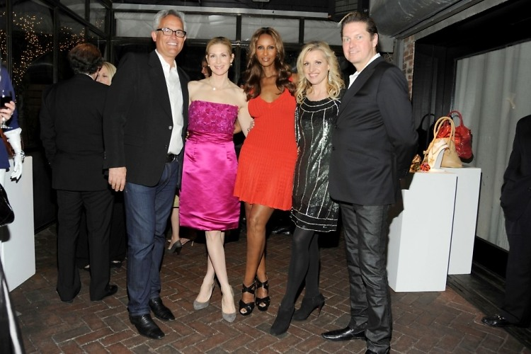 Mark Badgley, Kelly Rutherford, Iman, Mindy Grossman, James Mischka