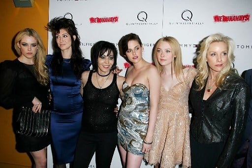 Kristen stewart joan jett and cherie currie thought differently