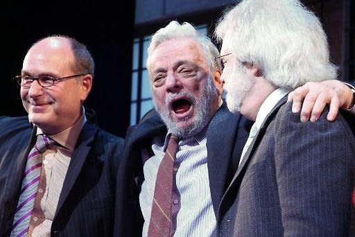Todd Haimes, Stephen Sondheim, John Weidman