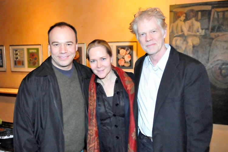Danny Burstein, Rebecca Luker, Michael Siberry