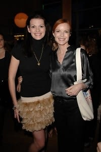 Heather Wright, Marcia Cross