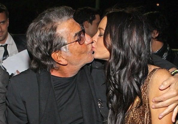 Lindsay Lohan, Roberto Cavalli Spread The Love At Milan ...