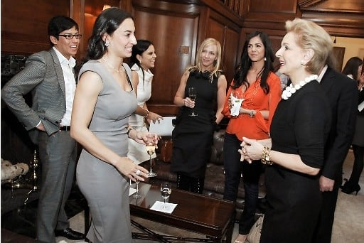 Christian Caceres, Jennifer Padovani, Cynthia Caceres, Nancy Cromie, Misa Ankar, Carolina Herrera