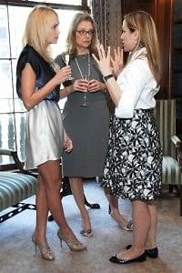 Susan Chase, Caroline Corriere, Lucette Ballard