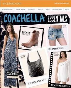 ShopBop's Coachella Collection