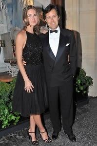 Lauren Bush and Ricky Lauren