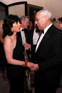 Christiane Amanpour, Colin Powell