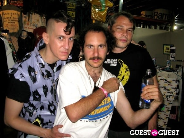 Jeremy Scott, Mark Hunter, Shepard Fairey