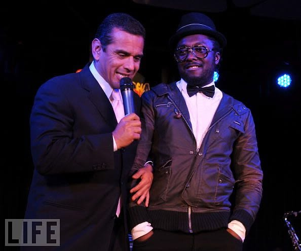 Anotonio Villaraigosa, Will.i.am