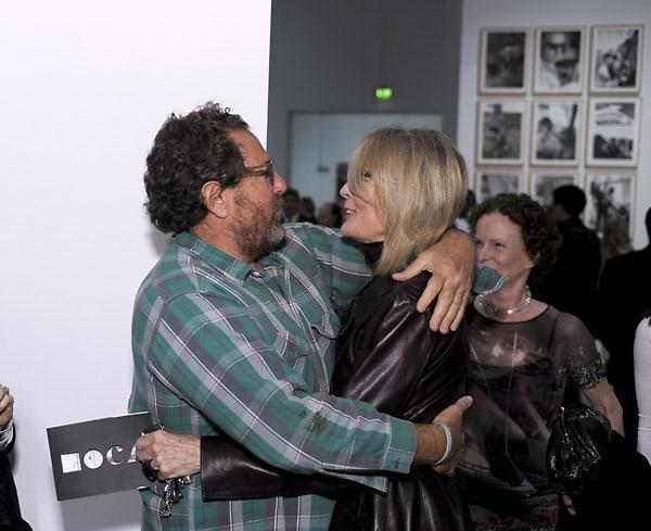 Julian Schnabel, Diane Keaton
