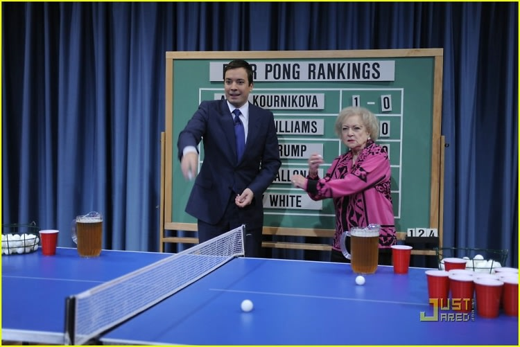 Jimmy Fallon, Betty White