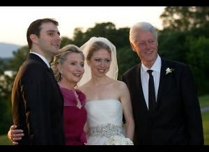 Chelsea Clinton Wedding Photo With Family