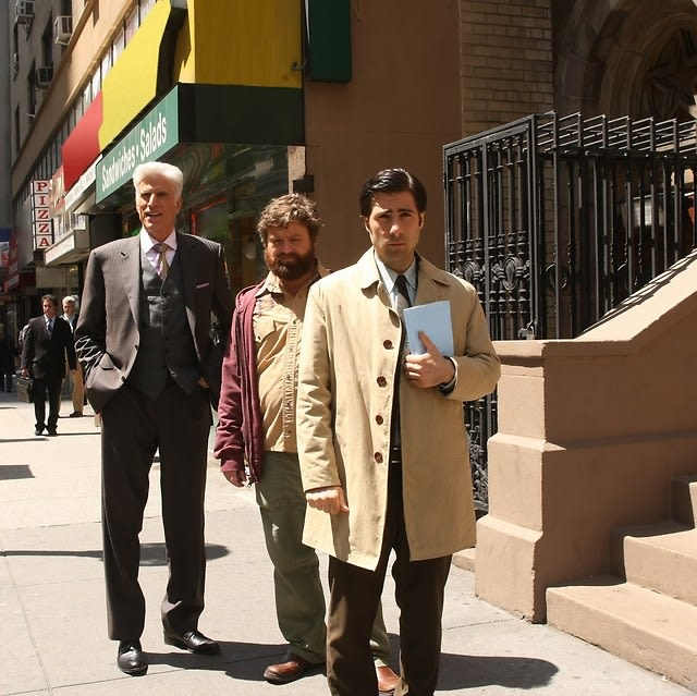 Ted Danson, Zach Galifianakis, Jason Schwartzman