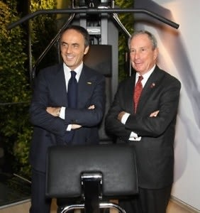 Nerio Alessandri, Mayor Michael Bloomberg