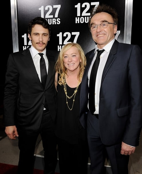 James franco, Nancy Utley, Danny Boyle