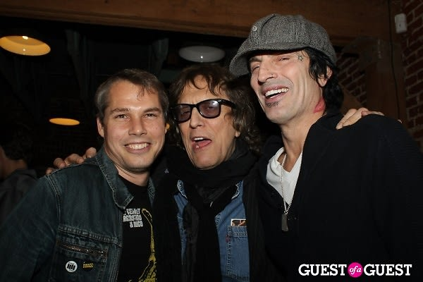 Shepard Fairey, Mick Rock, Tommy Lee